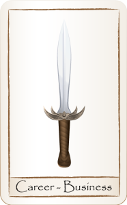 career-business-sword-card