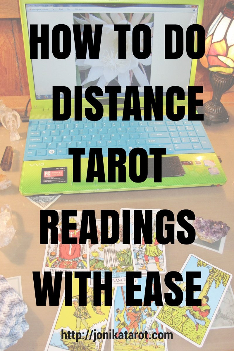 HOW TO DO DISTANCE TAROT READINGS WITH EASE