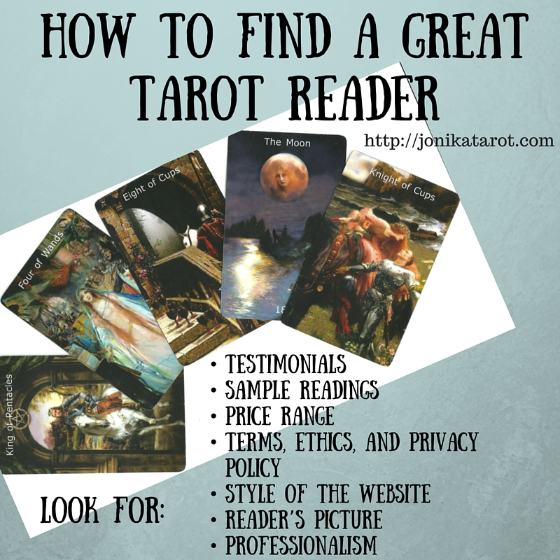 HOW TO FIND A GREAT TAROT READER (2)