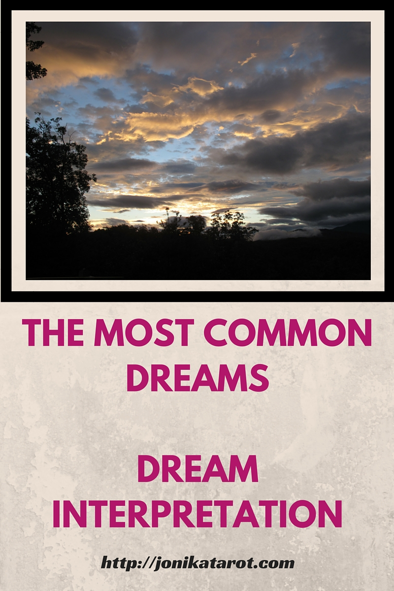 THE MOST COMMON DREAMSDREAM INTERPRETATION