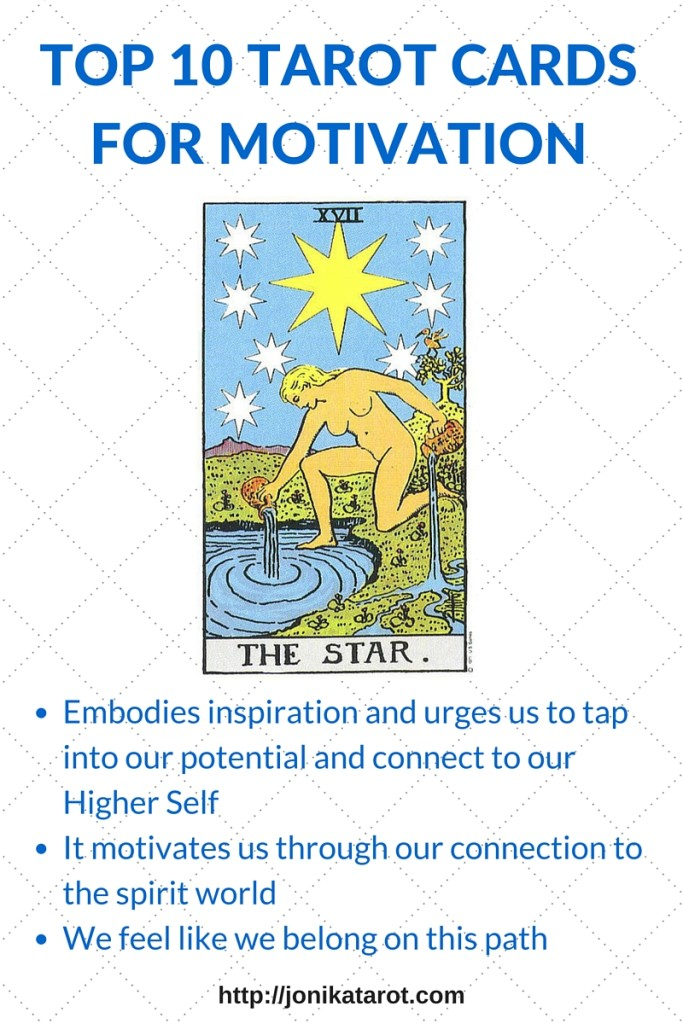 TOP 10 TAROT CARDS FOR MOTIVATION - 10