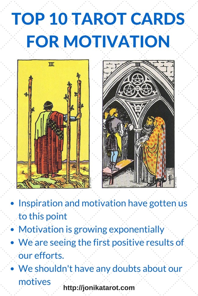 TOP 10 TAROT CARDS FOR MOTIVATION - 5-6