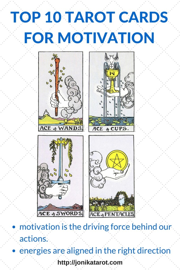 TOP 10 TAROT CARDS FOR MOTIVATION - 1-4