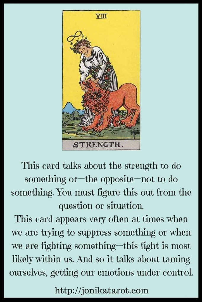 The Strength Tarot Card Interpretation