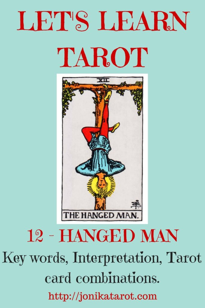 Let's Learn Tarot - The HANGED MAN