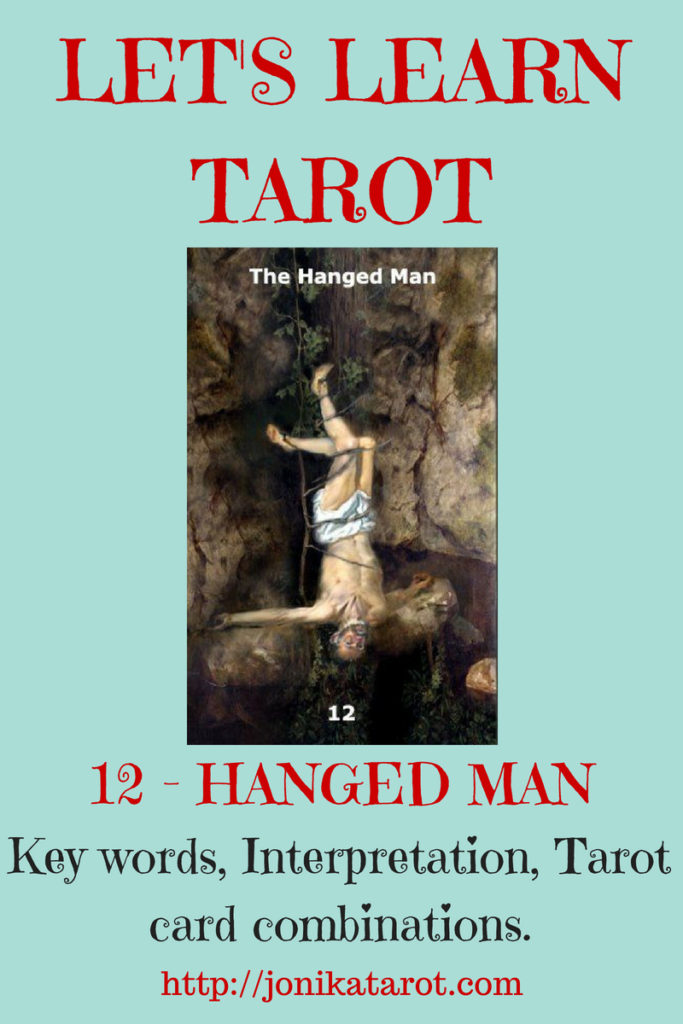 The HANGED MAN Tarot Card | Jonika Tarot